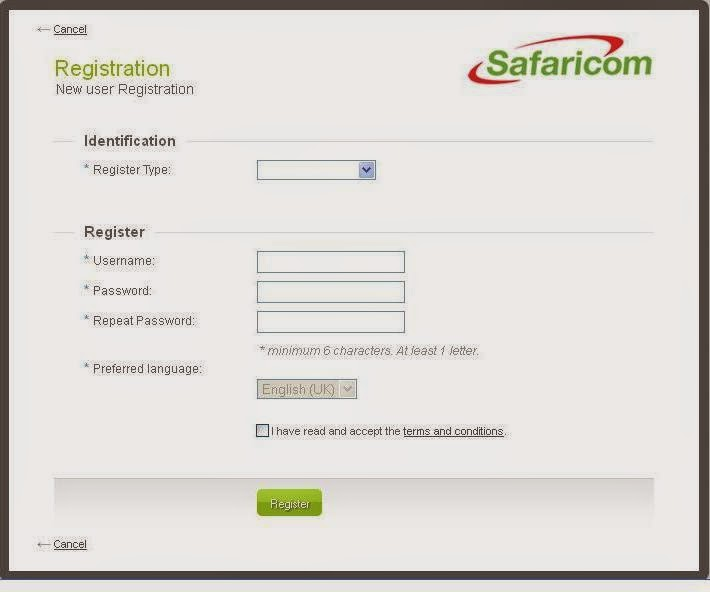 Safaricom Self Care